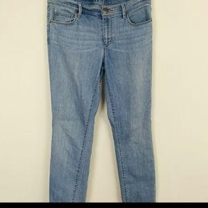LOFT Jean Modern Skinny Blue Sz: 28/6